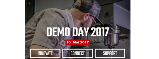 Demo-Tag mit Live-Zerspanung am 10. Mai 2017